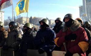 Парубий призвал активистов Самообороны Майдана к активным действиям (видео, фото)