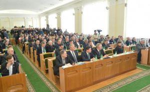 Луганские депутаты собрали 72 тысячи гривен для семьи милиционера, умершего на Майдане
