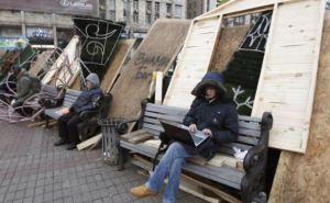 В Киеве собираются снести баррикады Евромайдана (фото)