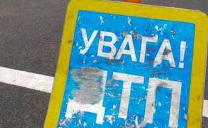 В Северодонецке во время митинга произошло ДТП (фото)
