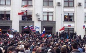 Захват здания Луганской облгосадминистрации: как это было (видео)
