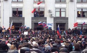 Протестующие в Луганске заявили о проведении Референдума 16марта и приняли обращение к Путину