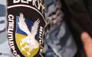 В Кривом Роге заблокировали базу «Беркута», чтобы бойцов не отправили в Луганск