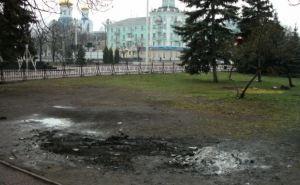 Из центра Луганска убрали палатки «гвардейцев» (фото)