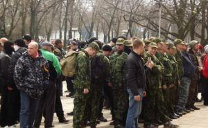 Митингующие выдвинули требования губернатору Луганщины и ушли от здания ЛОГА (фото)