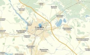 В Славянск вошли 20 БТР и полтысячи военных. —Очевидцы