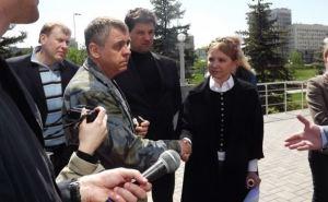 Тимошенко передала захватчикам луганского СБУ «протокол взаимопонимания»