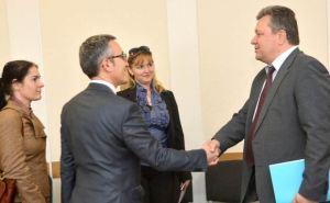 О чем говорили руководители Луганского облсовета с представителями ОБСЕ?