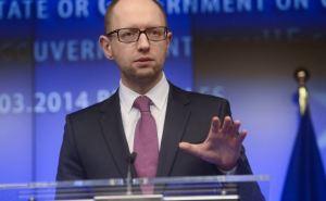 Яценюк заметил улучшение ситуации на Донбассе