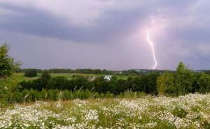 В Украину идет дождливая погода