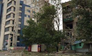 За сутки под артобстрел в Луганске попали 36 жилых домов и объектов