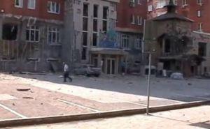 Последствия обстрела Донецка 7августа (видео)