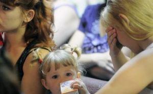 Луганск— Счастье. По гуманитарному коридору выехали еще 358 человек