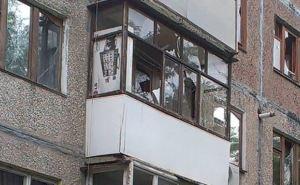 Артобстрел Луганска: квартал Жукова (фото)