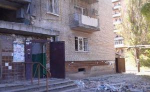 Последствия обстрела в Луганске: улица Андрея Линева (фото)