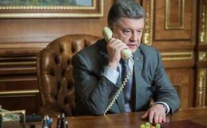 Порошенко договорился с Путиным о «поддержке режима прекращения огня»
