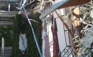 Последствия обстрела в Луганске: улица 21-го МЮДа (фото)