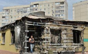 Город в состоянии ожидания, люди ходят, как зомби, как было в блокадном Ленинграде. —Рассказ о поездке в Луганск