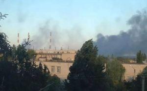 Счастьенская ТЭС обесточена в результате обстрела и пожара на трансформаторе