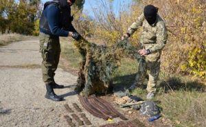 У жителя Лисичанска нашли арсенал боеприпасов (фото)