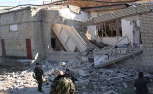 Школа в Тошковке Луганской области после обстрела (фото)