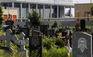 Бои за Донецкий аэропорт: под обстрел попало кладбище (видео)