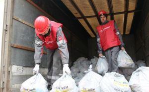 Гуманитарный штаб Рината Ахметова доставил более 5000 продуктовых наборов для жителей Краснодона, Суходольска и Молодогвардейска (фото)