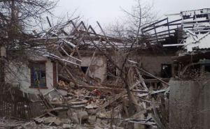 Село Тошковка Луганской области после обстрела (фото, видео)
