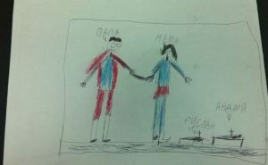 Травма войны: что рисуют дети из Донбасса (фото)