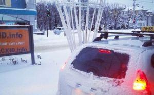 Луганск в снегу: фотопрогулка по зимнему городу