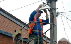 В Луганске продолжают ремонтировать линии электропередач