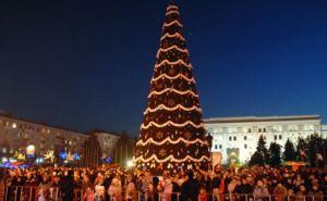 В Луганске 26декабря состоится открытие главной городской елки