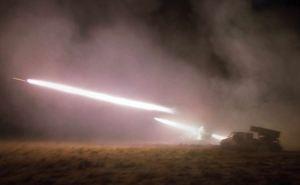 Ночные артобстрелы Донецка (видео)