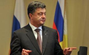 Порошенко заявил, что на Донбассе проводится перегруппировка войск