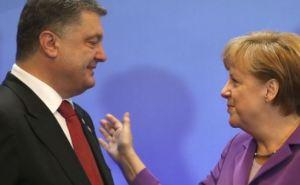 Порошенко и Меркель договорились о встрече глав МИД в «нормандском формате» по поводу ситуации на Донбассе