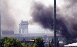 Страшные кадры: люди на улице в Донецке во время обстрелов (видео)