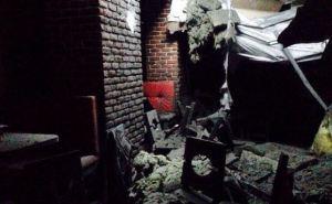 Последствия обстрела Донецка: кафе «Валерия» (фото)