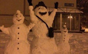 В Харькове нашествие снеговиков (фото)