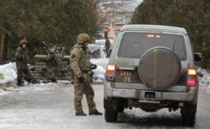 Начал действовать пограничный режим с зоной АТО на Донбассе