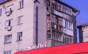 Последствия обстрела квартала 50 лет Октября в Луганске (фото)