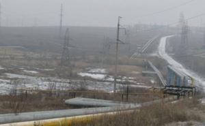 В Донецке в результате обстрела поврежден газопровод высокого давления (фото)