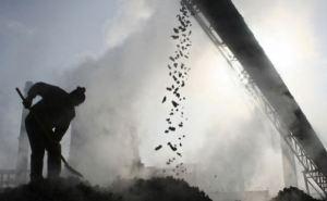 Добыча угля в Украине снизилась в 2,2 раза