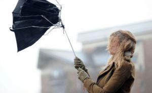 В Луганске объявлено штормовое предупреждение в связи с ветром и грозой
