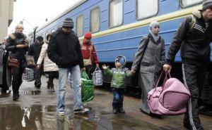 Количество переселенцев из зоны АТО в Киев и область достигло почти 80 тысяч человек