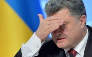 Больше половины украинцев недовольны действиями Порошенко. Итог года президентства