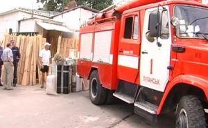 На Центральном рынке Луганска выявили ряд нарушений требований пожарной безопасности