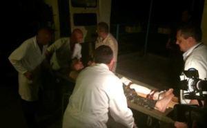 В военный госпиталь Харькова за три дня поступило почти 70 бойцов из зоны АТО