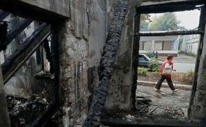 В Новотошковке Луганской области под обстрел попала водонапорная башня
