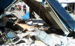 Киевский район Донецка: последствия обстрела (фото)