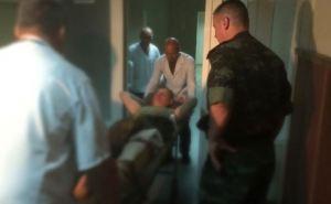 В харьковский госпиталь доставили 60 раненых и больных бойцов